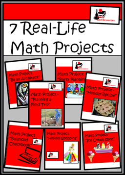 Raki's Rad Resources: Math Projects For Your Classroom