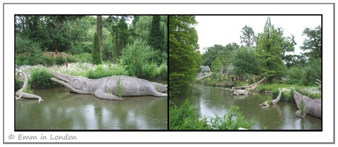 Dinosaurs in Crystal Palace Park 1
