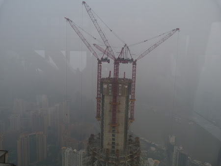 Obiective turistice Shanghai: Battleship Gallactica sau Shanghai Tower