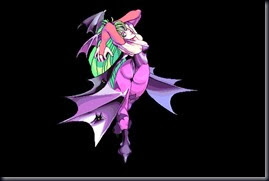 Night Warriors Darkstalkers' Revenge, Arcade Endings, Morrigan