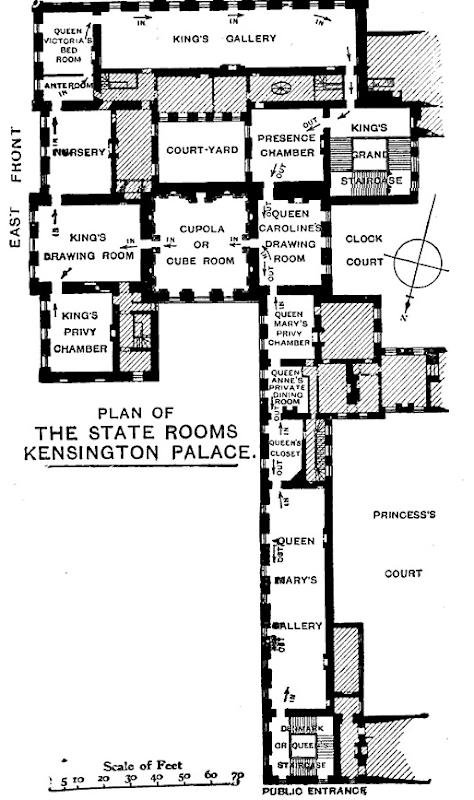 Apartment 1a kensington palace floor plan apartment for Kensington house plan