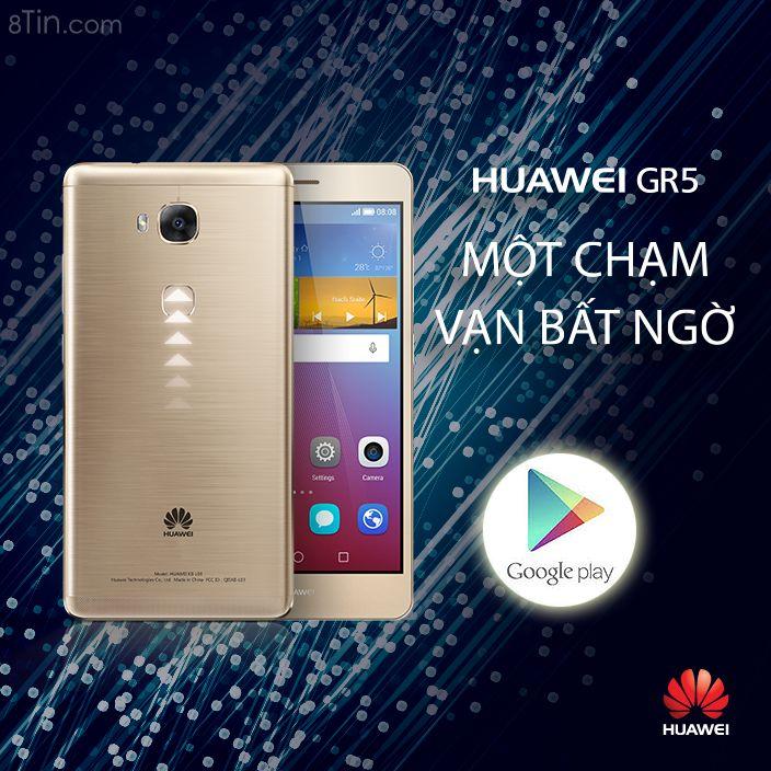 Bí quyết chạm thông minh cùng #HuaweiGR5!