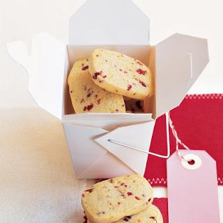 Cornmeal-Cherry Cookies.