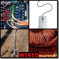 WIRED- 4 Pics 1 Word Answers 3 Letters