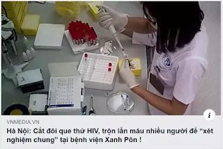 """Cắt đôi que thử HIV để dùng cho 2 bệnh nhân, thậm chí trộn lẫn máu nhiều người để """"xét nghiệm chung""""!"""