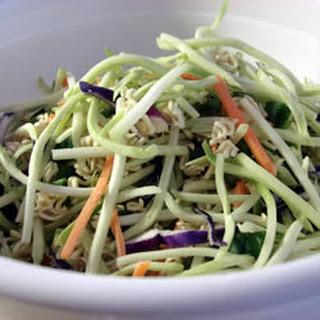 Broccoli and Ramen Noodle Salad.