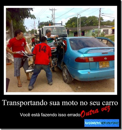Transporte de moto FAIL [3] By Kiko Molinari Originals