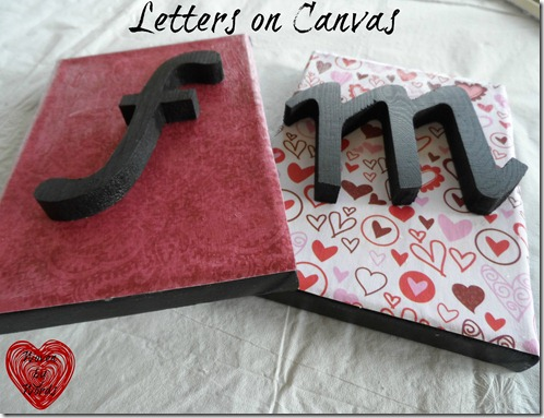 Letters on Canvas
