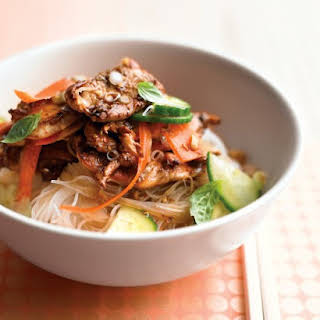 Thai Chicken and Noodle Salad.