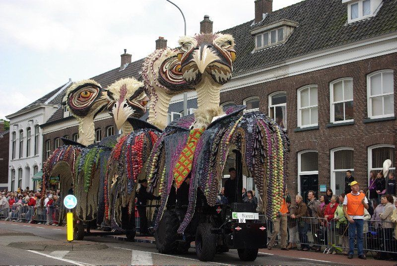 Fruit Corso Parade, Tiel, Netherlands: Everything made up