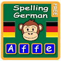 Learn to write German words icon