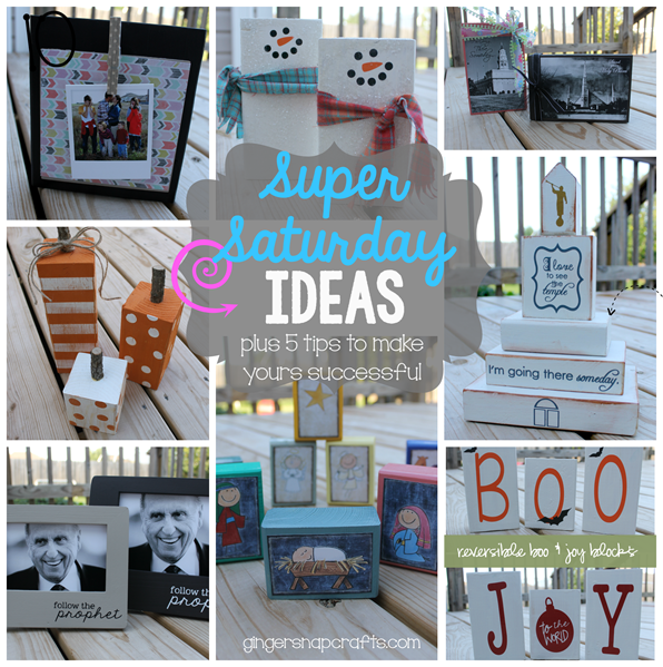 Super Saturday Ideas at GingerSnapCrafts.com #supersaturday #lds #craftnight