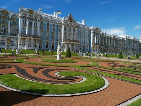 Gradina si palat Tsarskoe Selo