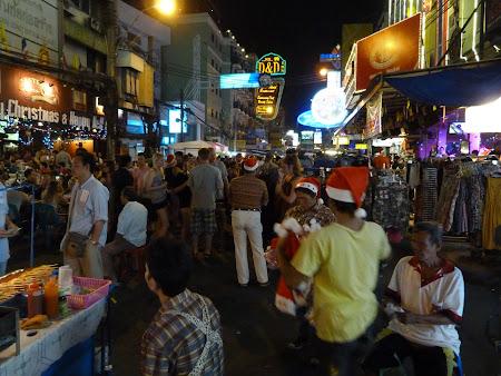 Khao San noaptea