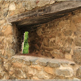 Bodenschützenstand in der Burgmauer