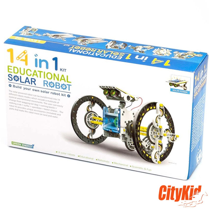 Educational Solar Robot Kit 14 in 1