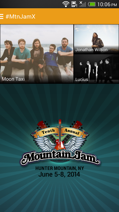 Mountain Jam Festival 2014 - screenshot