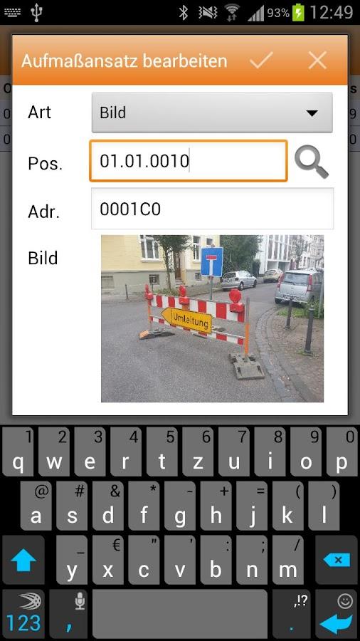 MWM-Piccolo - LV und Aufmaß- screenshot