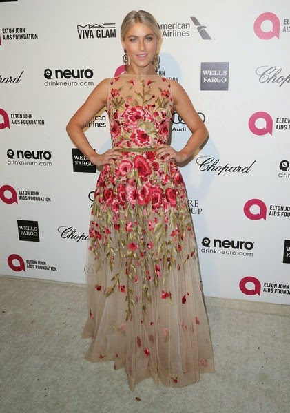 Julianne Hough attends the 23rd Annual Elton John AIDS Foundation