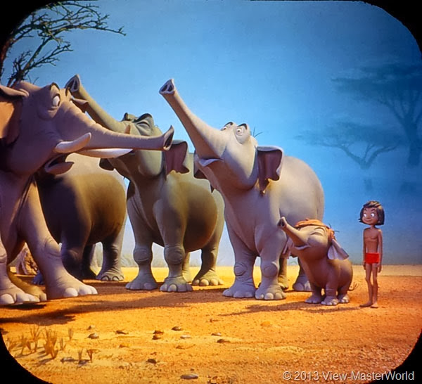 View-Master Jungle Book (B363): Scene 6