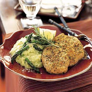 Baked Herb-Crusted Chicken Breasts.