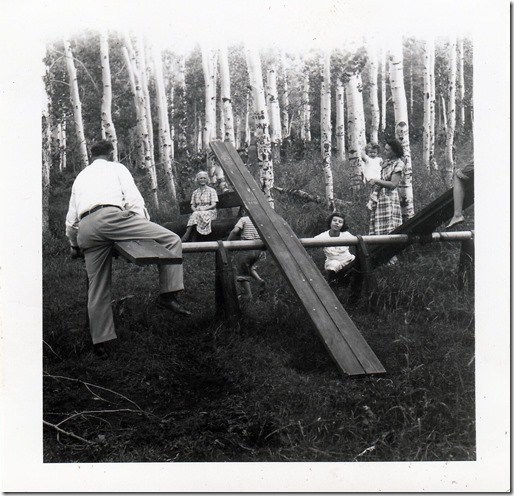 Webster Family in Utah 1952