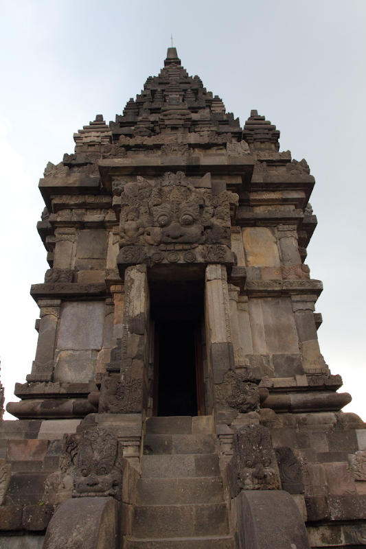 One of the temples in the Prambanan Temple Complex, Indonesia