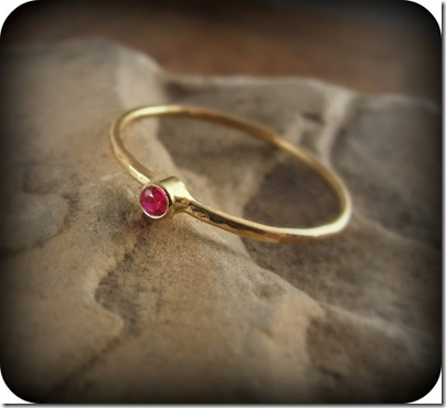 junedesigns ruby ring