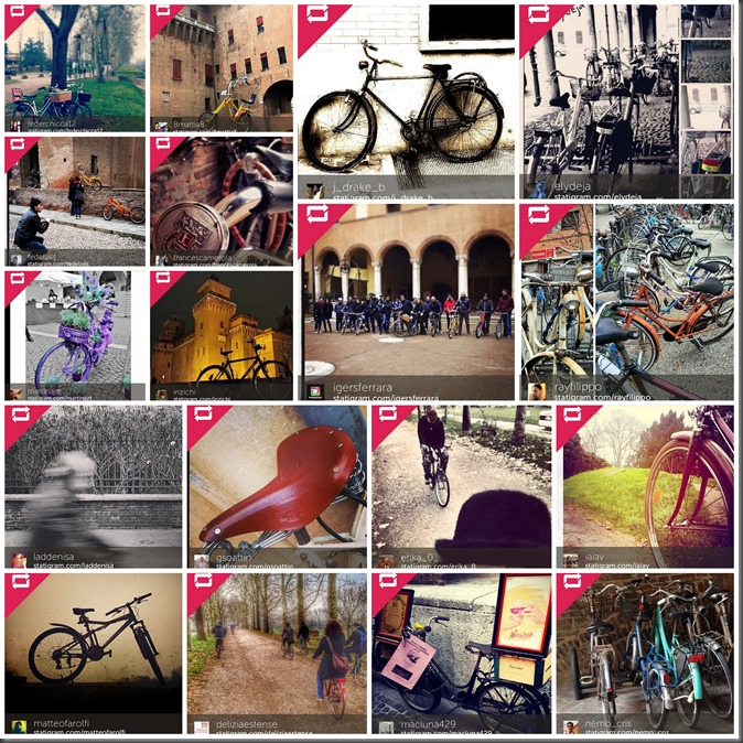 #igersferrara collage, Instagramers Ferrara