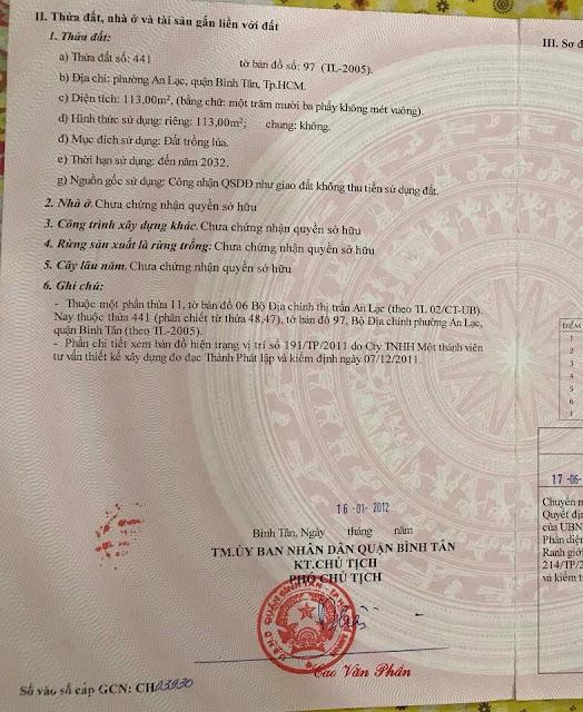 Đất nền Khu Dân Cư Nam Long Phường An Lạc Quận Bình Tân 04