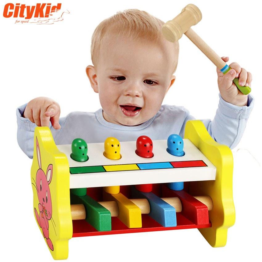 Bộ gõ gỗ cho bé Percussion 02