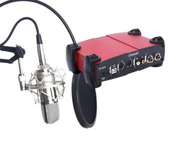 Micro thu âm ISK BM800