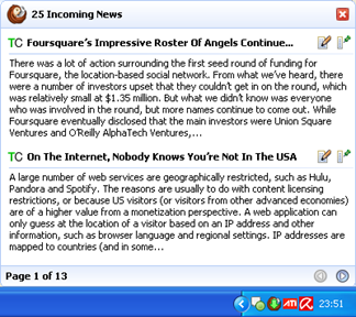 Google Reader Desktop for Windows and Mac OS