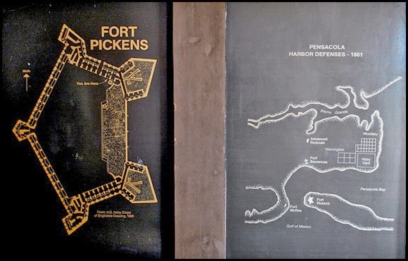 Fort Pickens Map