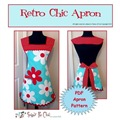 retro chic apron