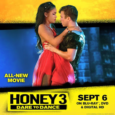 See Cassie Ventura and Kenny Wormald show off their moves in the allnew Honey 3 Out Sept 6