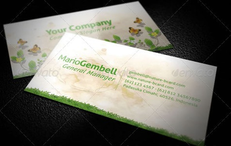 Nature-Business-Card
