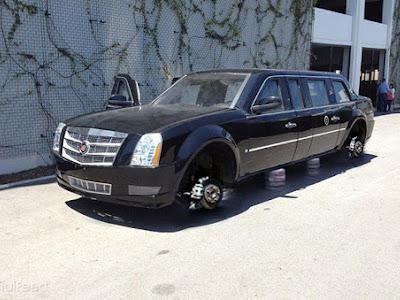 Góc Funland Khi em Cadillac One trong chuyến thăm chính thức Việt