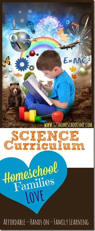 Science Curriculum #science #homeschooling