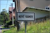 Ortseingang Nové Hamry