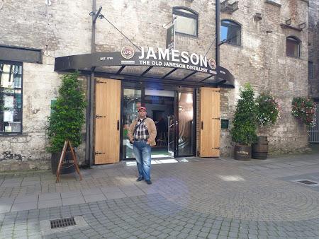 Imagini Irlanda: distileria Jameson Dublin