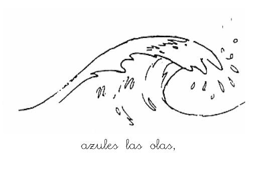 Dibujos De Olas Mar Para Pintar Wwwimagenesmycom