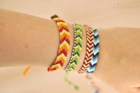Cùng chúng tớ làm Vòng tình bạn hay Friendship Bracelets tặng cho