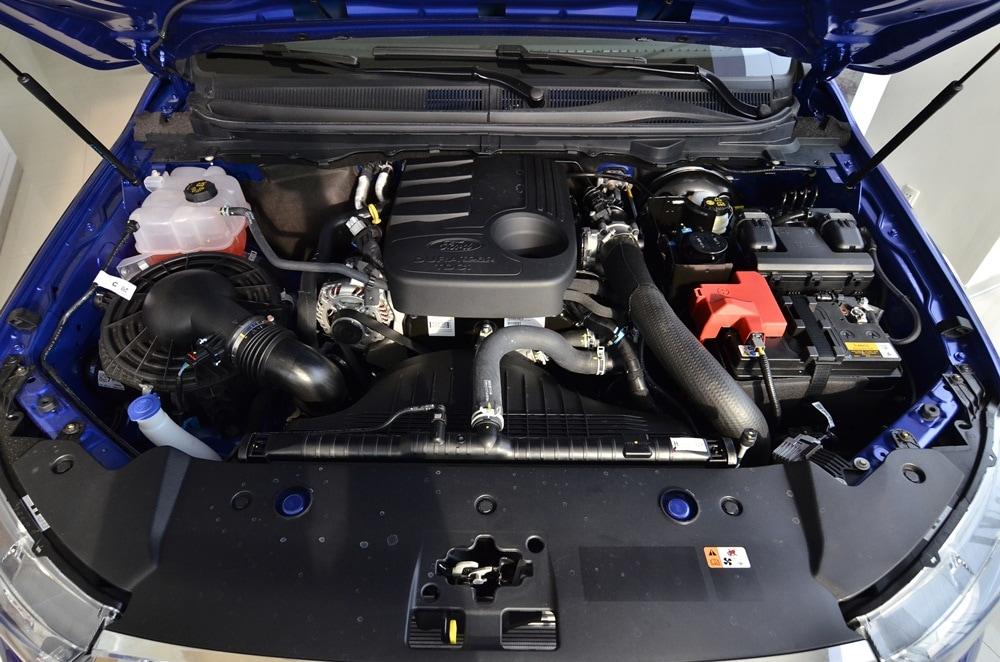 Nội thất xe Bán Tải Ford Ranger 09