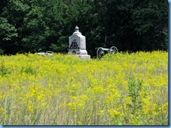 2667 Pennsylvania - Gettysburg, PA - Gettysburg National Military Park Auto Tour - Stop 9 - 1st New York Light Artillery Memorial