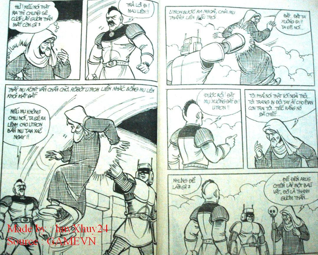 Dũng Sĩ Hesman chap 26 trang 6