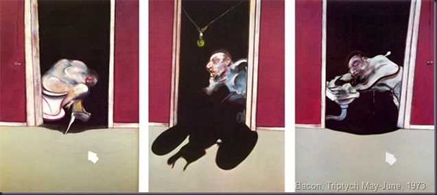 Triptych May-Junes, Bacon 1973