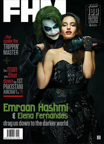 Watch out for this months issue of FHM Had a great time
