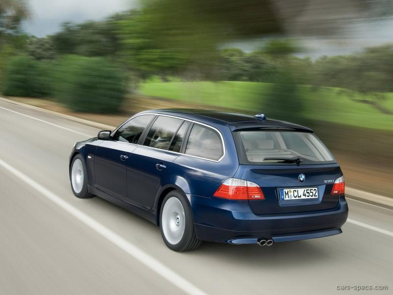 2008 bmw 5 series wagon specifications pictures prices. Black Bedroom Furniture Sets. Home Design Ideas