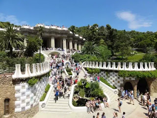 Công viên Güell, Barcelona